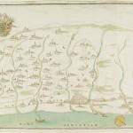 Antica Mappa del territorio di Rimini
