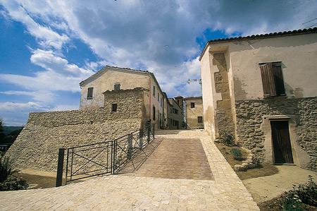 Ingresso del Castello di Albereto