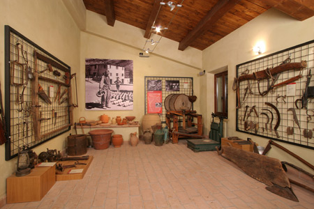 Interno Museo di Valliano