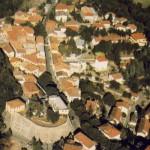 Vista aerea di Montescudo