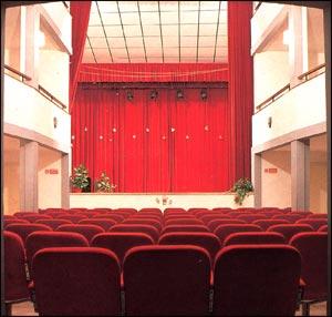 Interno del Teatro di Montescudo